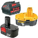 Assorted Cordless Tool Batteries